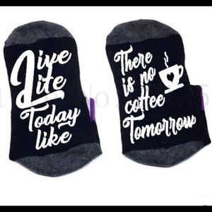 Just in: Live Life Like there is no Coffee ☕️
